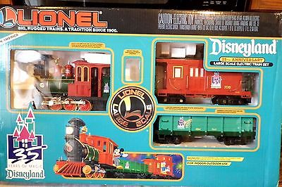 Lionel Disneyland 35TH Anniversary Large Scale Set